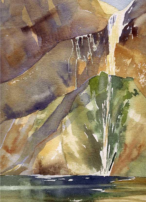Calfcreek-falls